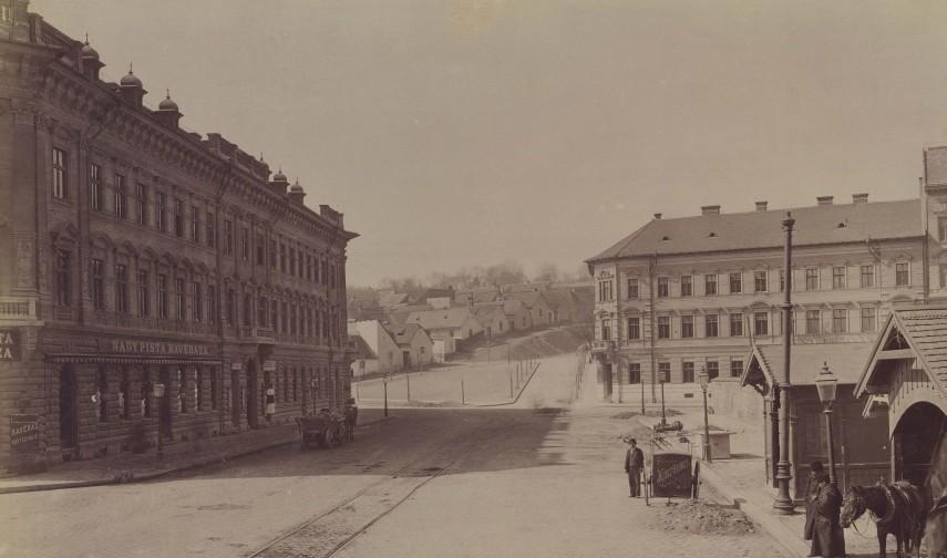 1893 táján, Ó Fő utca (Margit körút), 2. kerület