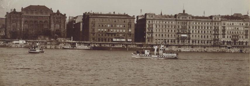 1914, Ferenc József (Belgrád) rakpart, 4. (1950-től 5.) kerület