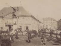 1896 táján, Dísz tér, 1. kerület