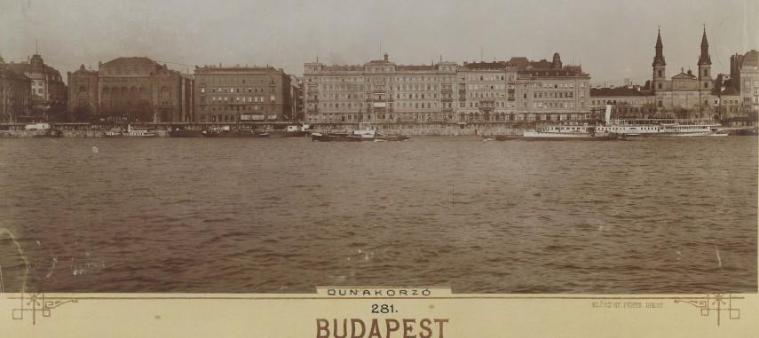 1912 táján, Dunakorzó, 4.(1950-től 5.) kerület