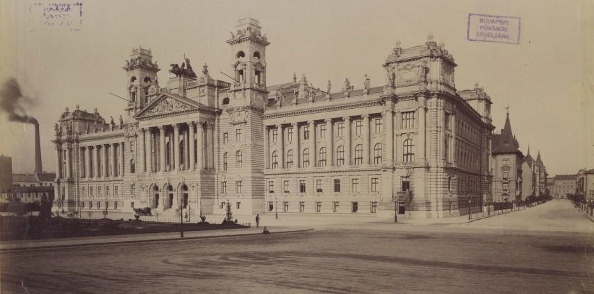 1898 körül, Országház (Kossuth Lajos) tér, 4. (1950-től 5.) kerület