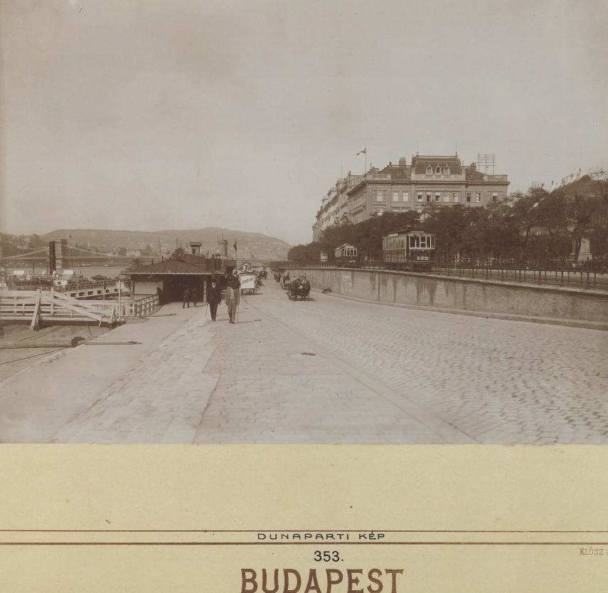 1901, Pesti alsó (Jane Haining) rakpart, 5. kerület