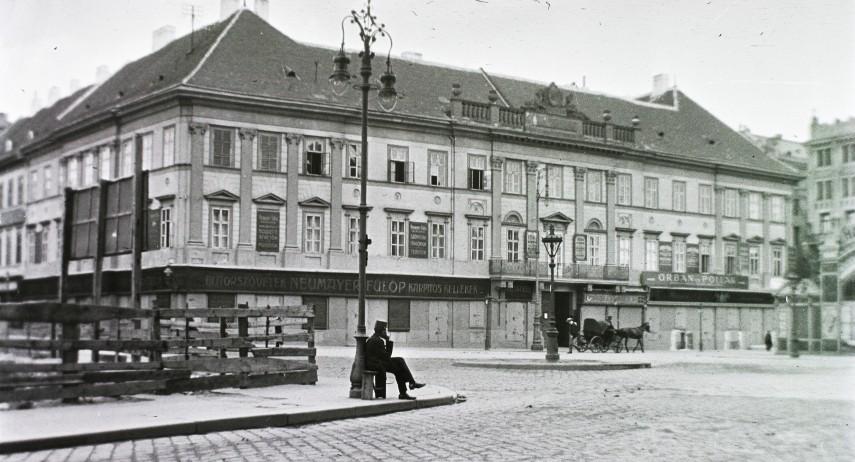 1912, Deák Ferenc tér, 4. (1950-től 5.) kerület