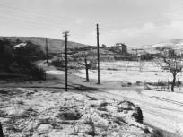 1951, Miasszonyunk útja (Meredek utca) a Korompai utcánál, 12. és 11. kerület