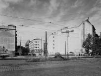 1953, Calvin (Kálvin) tér szemben a Kecskeméti utcával
