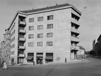 1960, Várfok utca a Vérmező utcánál, 1. kerület