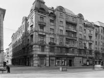 1957, Baross utca a Szeszgyár utcánál