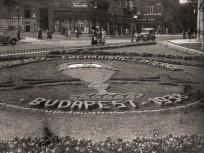 1938, Krisztina tér a Mészáros utca felé nézve, 1. kerület