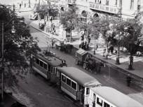 1940, Ferenc körút a Boráros tér előtt, 9. kerület