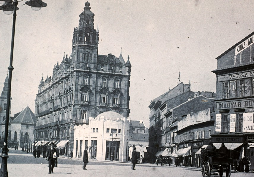 1909, Kígyó tér (Ferenciek tere), 5. kerület