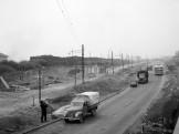 1965, Budaörsi út a Nagyszőlős utca torkolatánál
