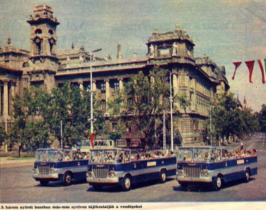 1960-as évek, Kossuth Lajos tér, 5. kerület