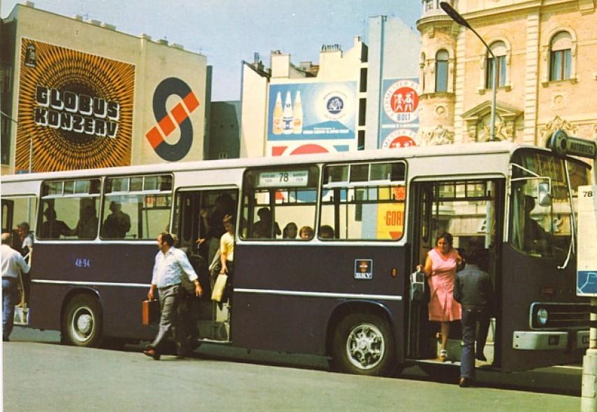 1970-es évek, Blaha Lujza tér és Rákóczi út, 8.és 7. kerület