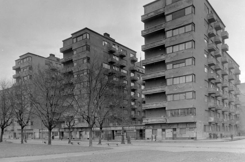 Teleki tér és környéke, Köztársaság tér 1957, 8. kerület