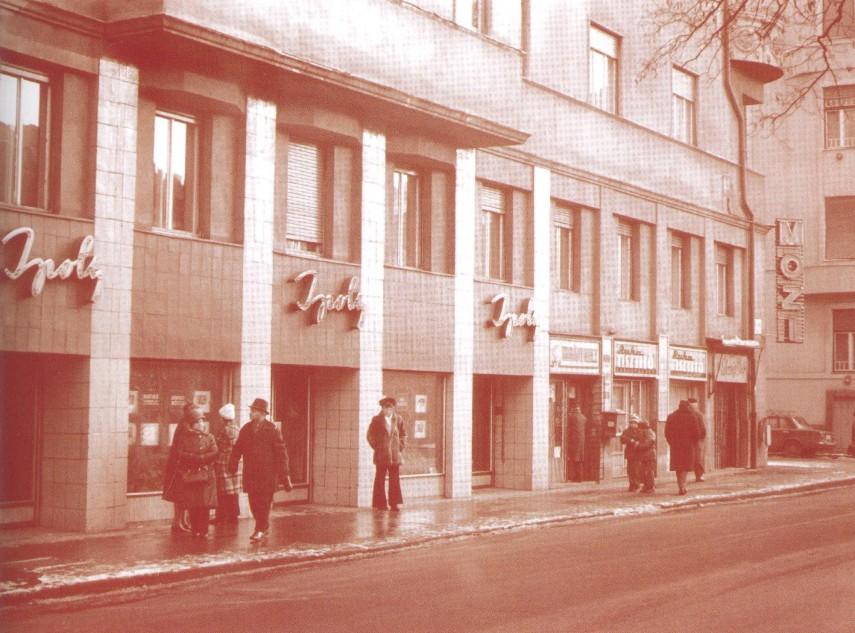 1970-es, 80-as évek, Hegedűs Gyula utca, 13. kerület