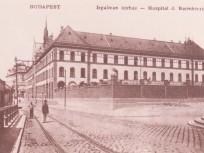 1900-as évek eljén, Frankel Leó út, az Irgalmas kórház