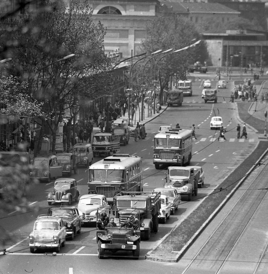 1960-as évek, Tanács (Károly) körút, 5. kerület