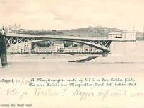 1900, a Margit szigetre vezető szárnyhíd, 13. kerület