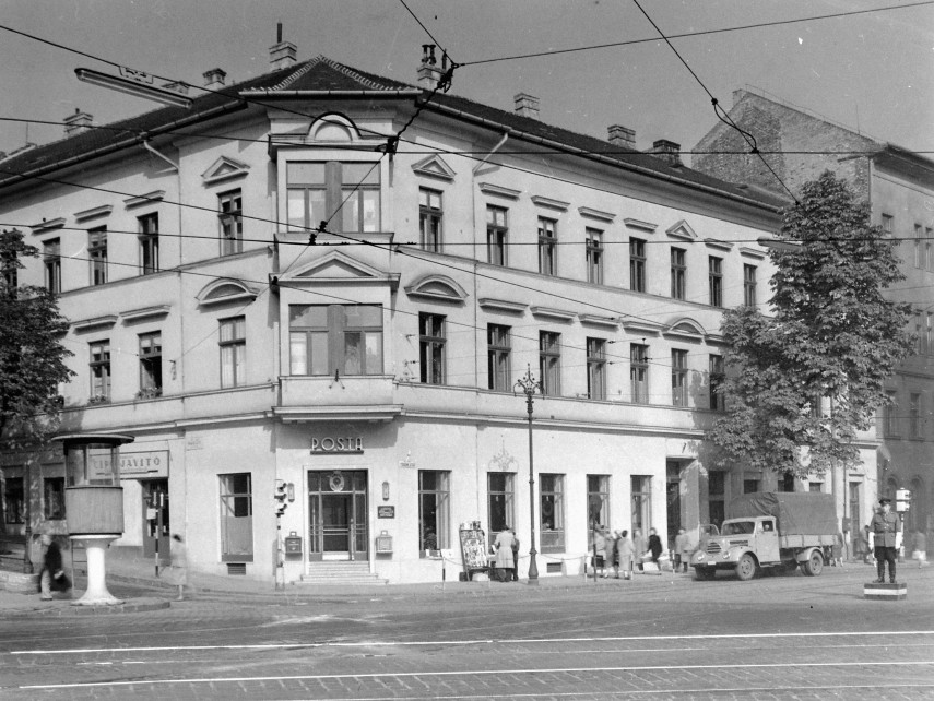 1959, Margit utca és a Török utca sarok, 2. kerület