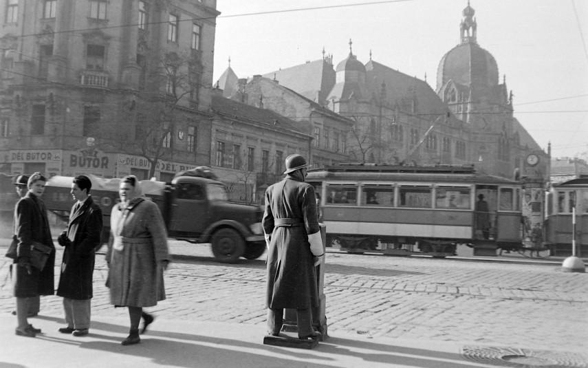 1948, Üllői út a Nagykörút felől, 9. kerület