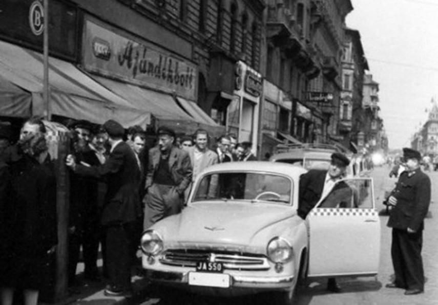 1950-es évek, Thököly út, 7. kerület