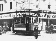 1935-1941, Rákóczi út és a Klauzál utca sarok, 7. kerület