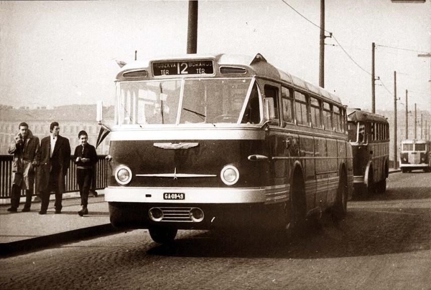 1960-as évek eleje, Ikarus 66-os, 13. kerület