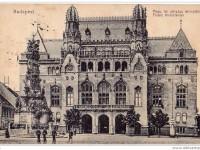 1917, Szentháromság tér, Magyar Királyi Pénzügyminisztérium, 1. kerület