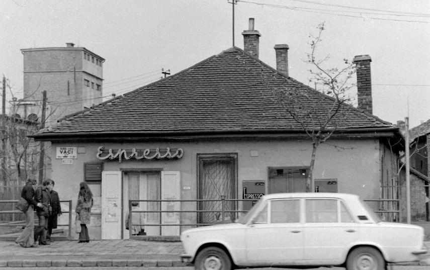 1975, Váci út a Fáy utcánál, 13. kerület
