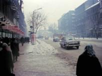 1970, Rákóczi út télen, 8. és 7. kerület