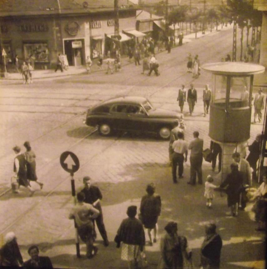 1960-as évek, Újpest, Árpád út, 4. kerület