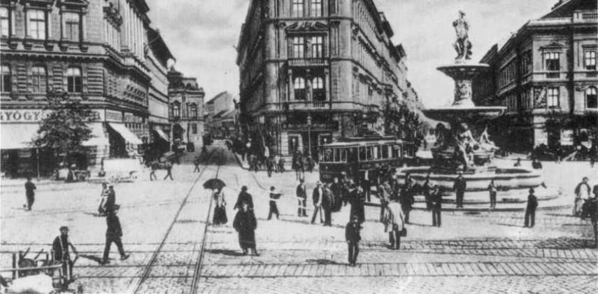 1896-1910, Calvin tér, 8. és 9. kerület