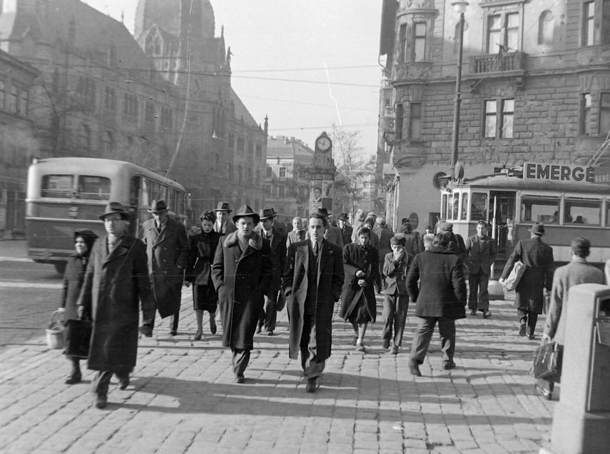 Kálvin tér és környéke, Űllői út X József krt. 1949, 8. kerület