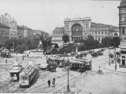 1910, Baross tér, Keleti pályaudvar, 7. ,és 8. kerület