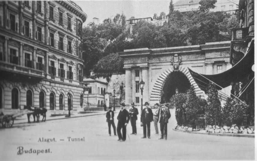 1800-as évek vége, Lánchíd (Clark Ádám) tér 1. kerület