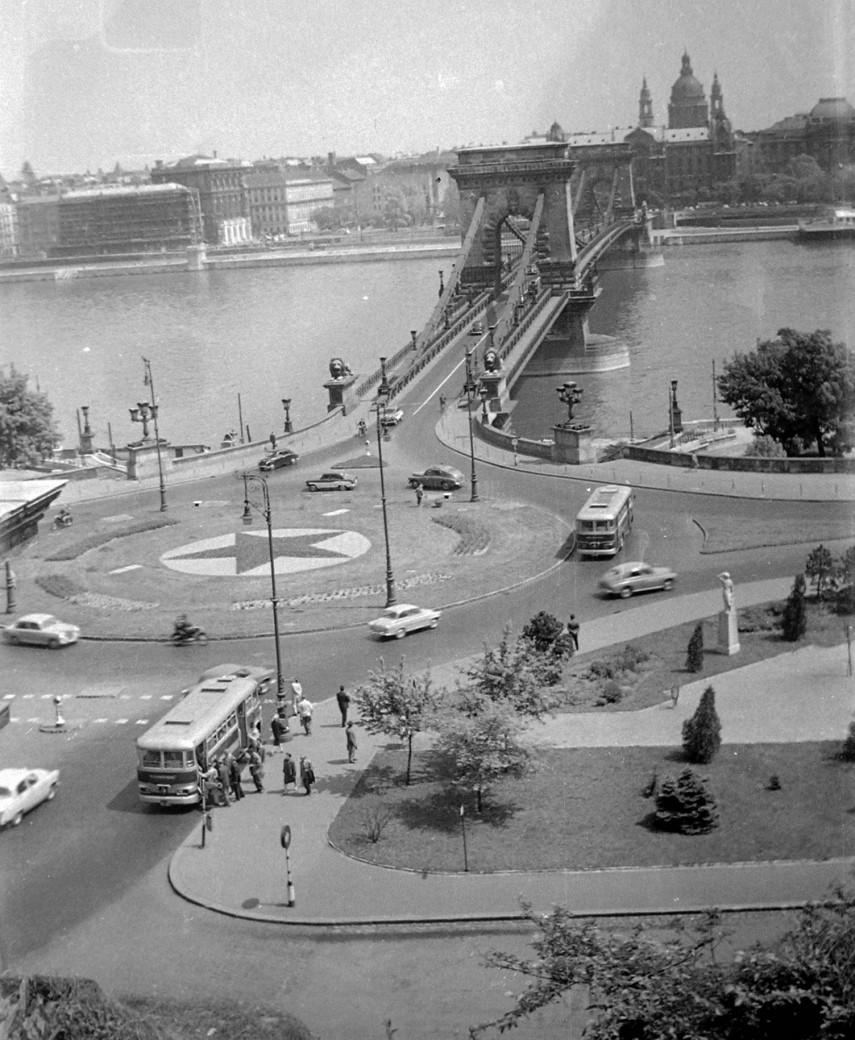 1963, Clark Ádám tér, 1. kerület