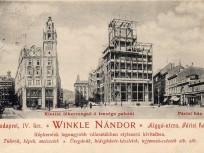 1899–1902, Eskü (Szabad sajtó) út, 4. (1950-től 5. kerület)