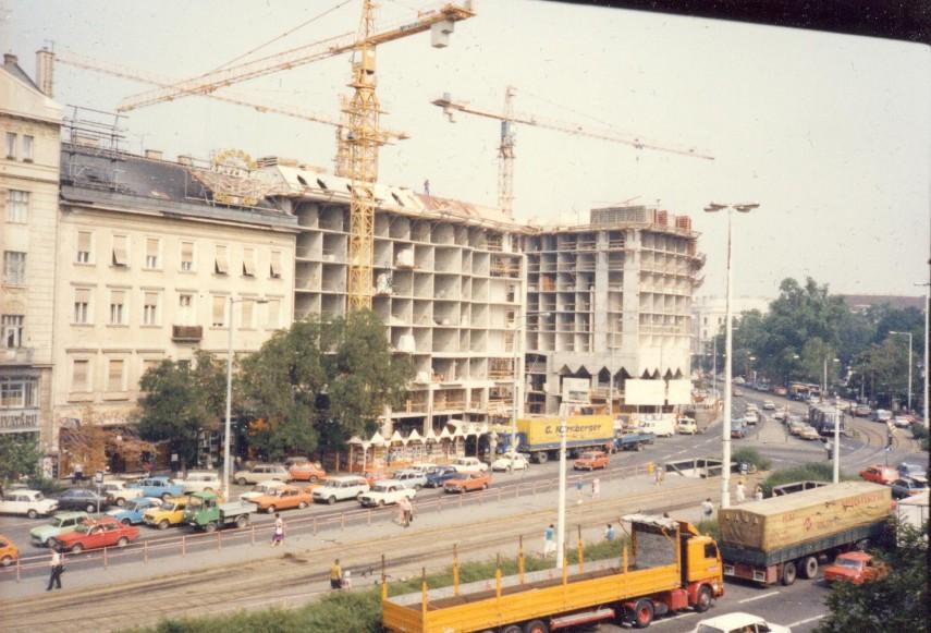 1989 táján, Kálvin tér, 5. kerület