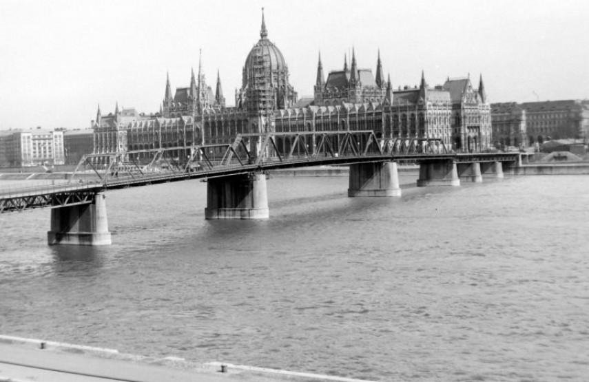 1954, Kossuth híd, 1. és 5. kerület