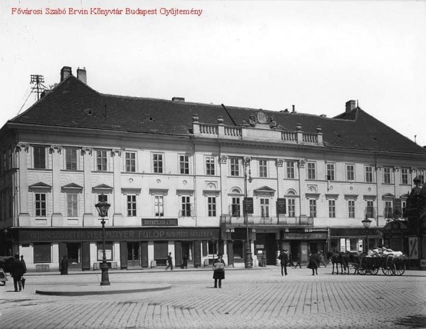 1900-as évek, Erzsébet tér, 4. (1950-től 5.) kerület