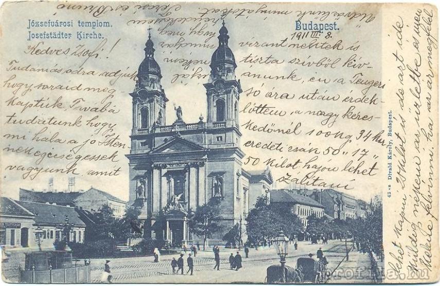 1911, Mária Terézia tér, 8. kerület