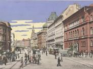1900-as évek táján, József körút, 8. kerület