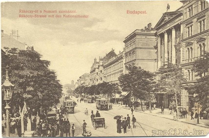 1906-1910 Rákóczi út, 8. és egy kicsit 7. kerület