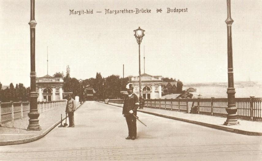 1900-as évek eleje, a margitszigeti lejáró, 13. kerület