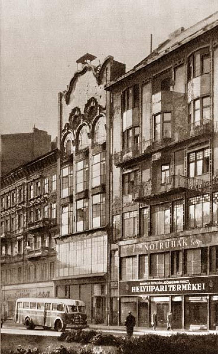 1950-es évek, Martinelli tér, 5. kerület