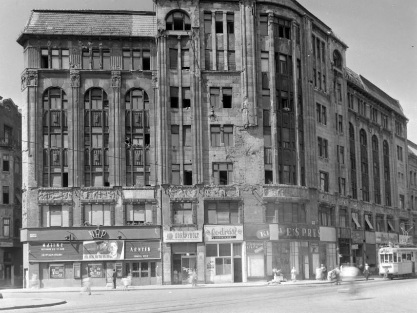1957, Népszínház utca, Nap mozi, 8. kerület