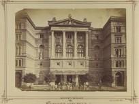 1900 táján, Kerepesi út (Rákóczi út), a Nemzeti Színház, 8. kerület