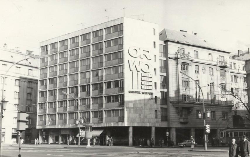 1967, Üllői út, a József körút sarok, 8. kerület