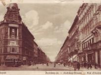 1900 as évek eleje, Andrássy út, 6. kerület