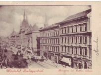 1900-as évek eleje, Kerepesi út (Rákóczi út), 8. kerület